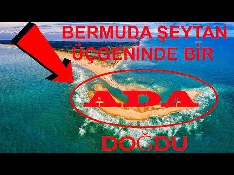 Bermuda Şeytan Üçgeni Çevresinde Esrarengiz Bir Ada Doğdu
