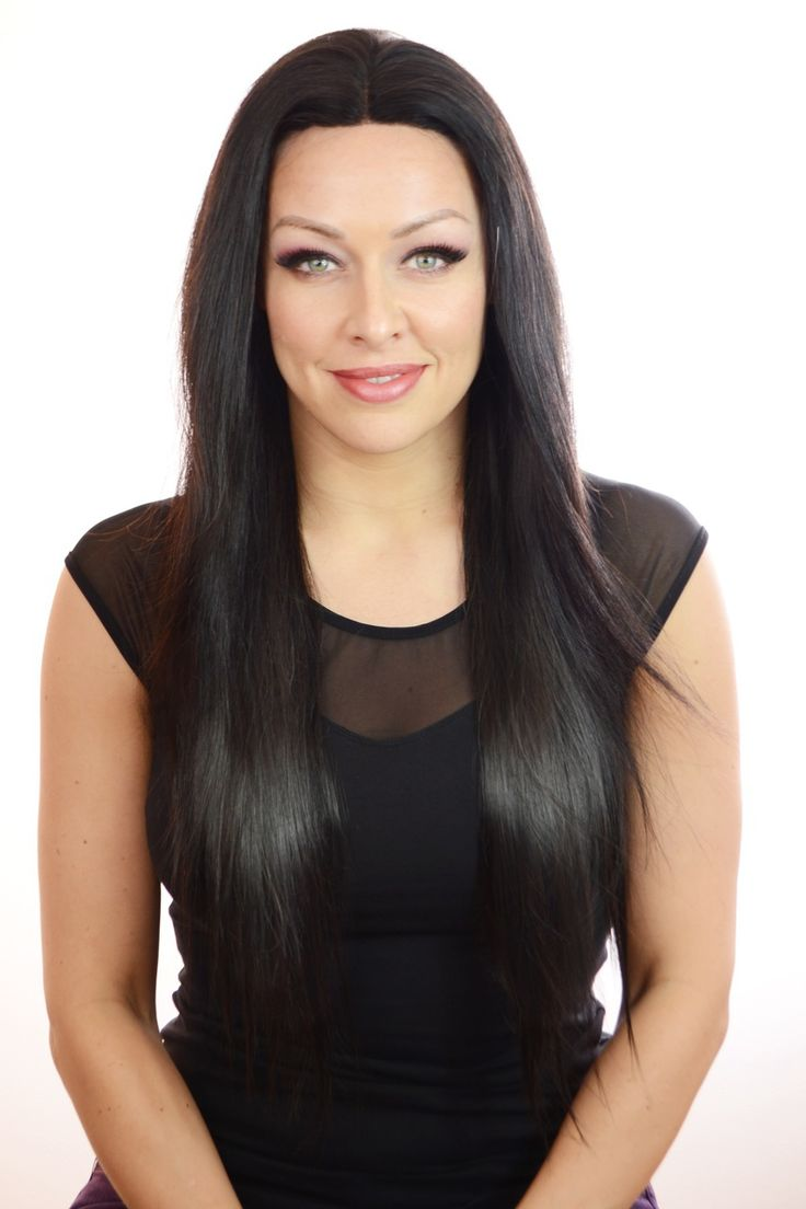 Hair By MissTresses - Caprice | Long Lace Front Silky Straight Style Wig | Human Hair Blend , £90.00 (http://www.celebwigs.com/caprice-long-lace-front-silky-straight-style-wig-human-hair-blend/)