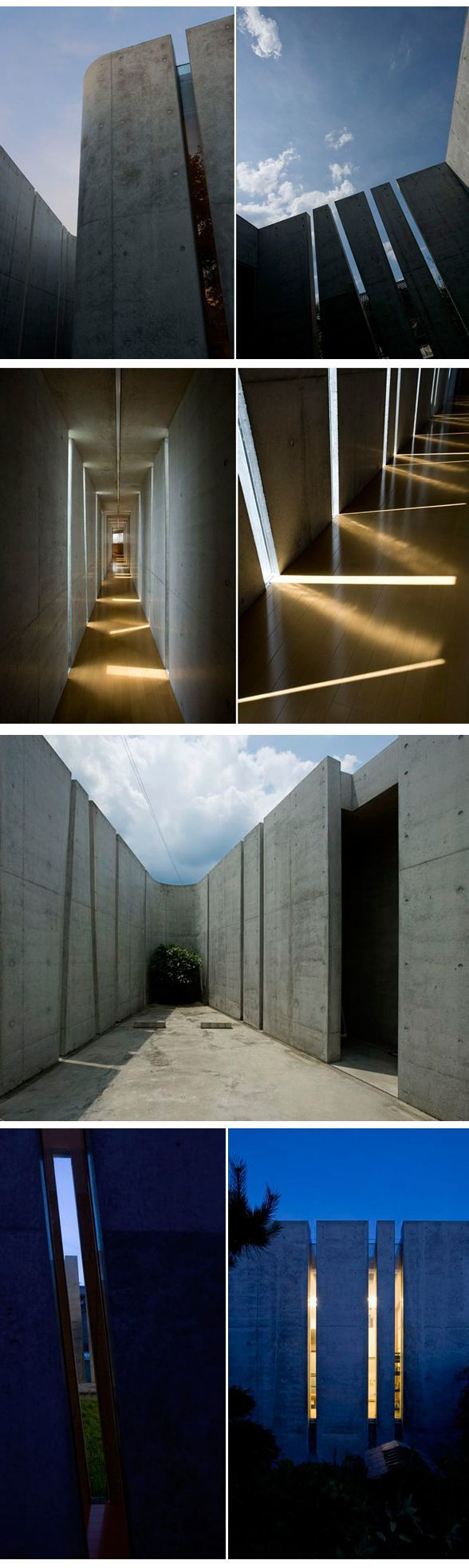 Slit House, Eastern Design Office, Japon