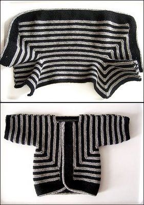 Baby surprise jacket | Elizabeth Zimmermann