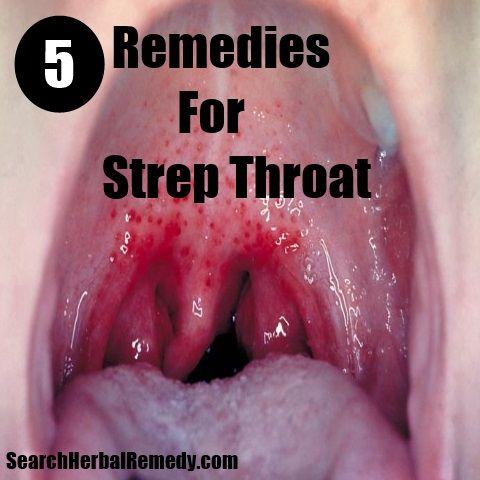 Herbs for strep throat massages deep