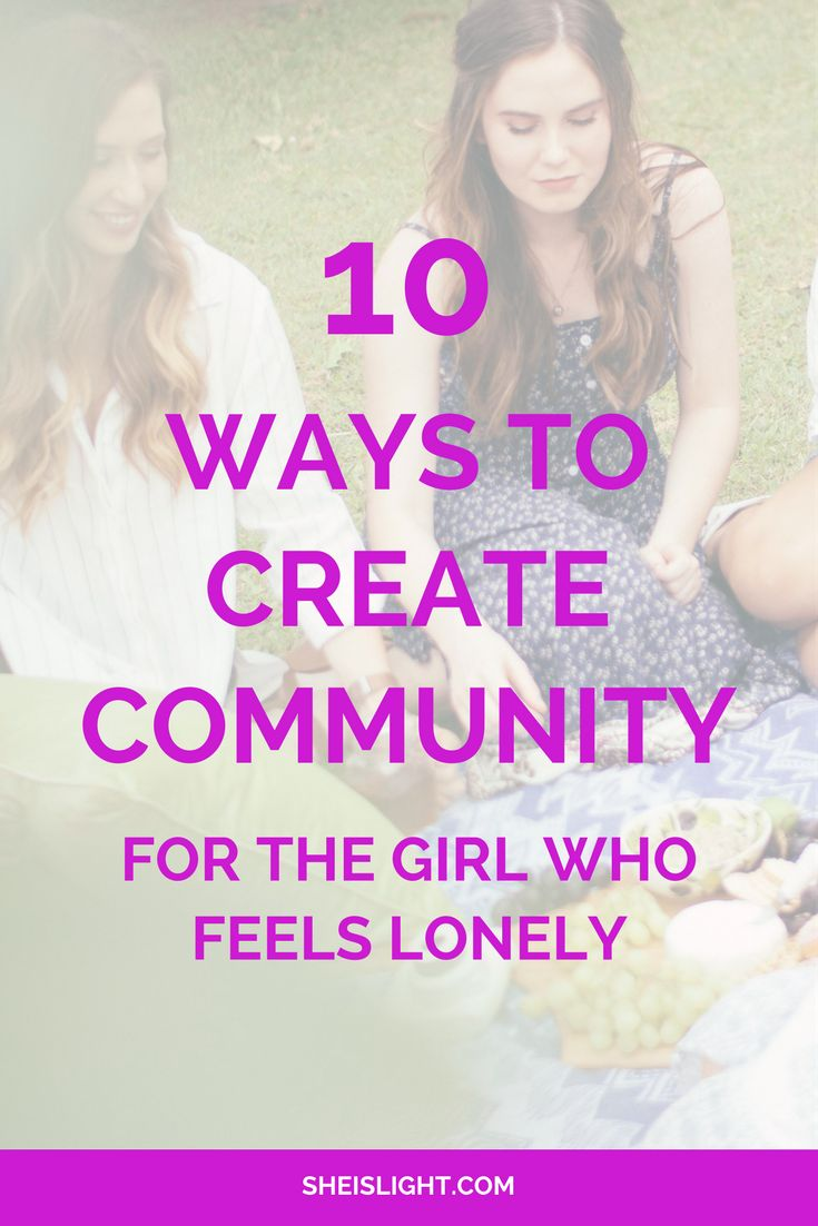 10 ways to create community - for the girl who feels lonely. Christian | Christian blogger | Christian women | encouragement and inspiration for Christian women | She is Light | Elise Hodge | Devotionals | Christian quotes | scripture | Bible | Christian encouragement | Australian Christian blogger | Christian resources