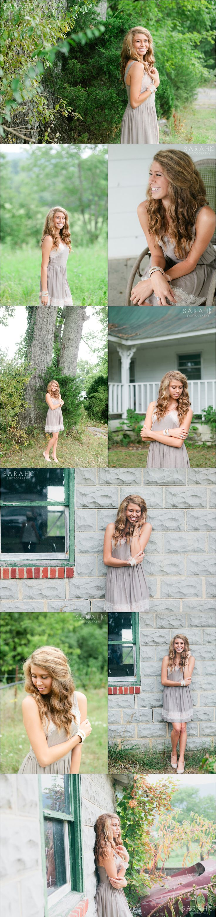 Knoxville Outdoor Senior Portraits | Sarah C. Photography | Voted Knoxville's Best Photographer | Family, Senior and Wedding Photography