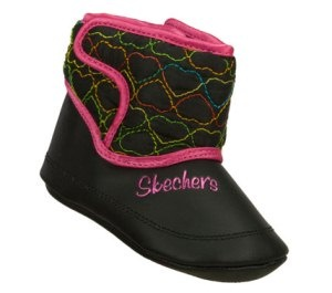 Skechers Children's Shoes - Lil Snugglers in MultiBlack