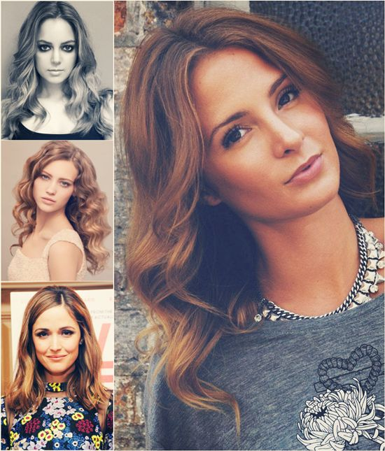 14 best celebrities hair extensions images on pinterest flattering hair style for winter with clip in wavy extension pmusecretfo Gallery