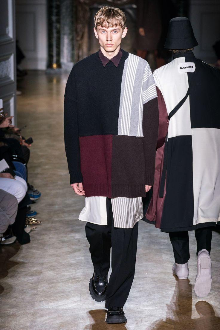 Jil Sander Herbst 2019 Menswear Fashion Show