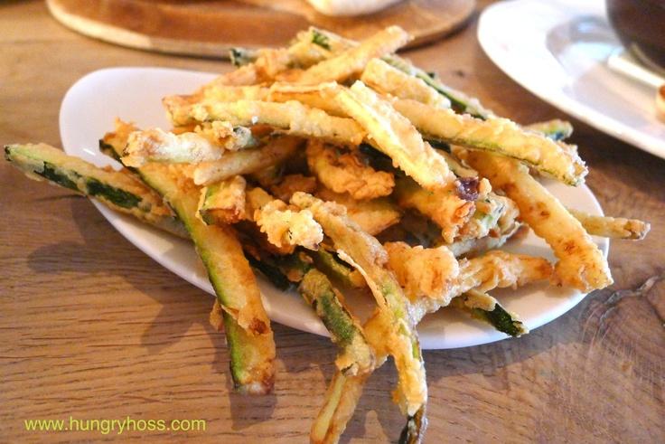 Kolokithakia Giganites - Zucchini fritti