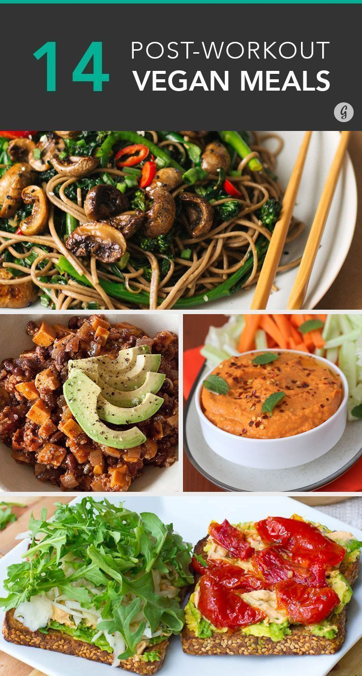 This 14 post-workout meals from Greatist manage to fill you with protein while still being 100% vegan! If this isn't motivation to hit the gym, what is?
