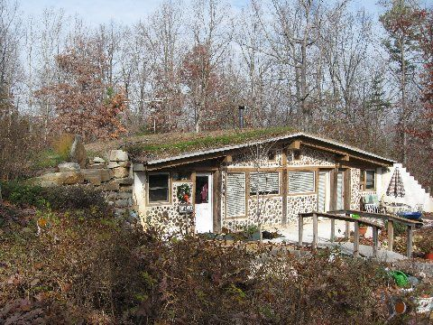 Log End Cave Underground House Design Example