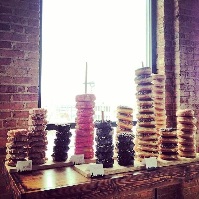 seth would love this omg hahahha...Donut bar. #wedding #dessertbar