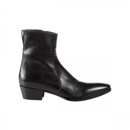 Lacrom - Maria Biandr - Gianni Unisex ankle boot in calf.
