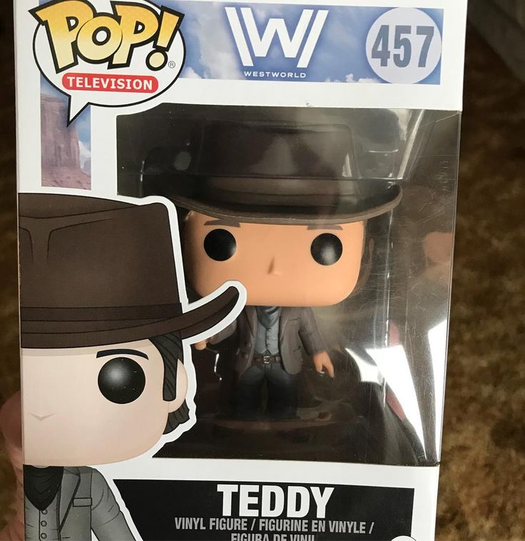 Picked up #Teddy yesterday at #toysrus. #westworld #western #hbo @weirdwestradio #weirdwestradio #funkopop