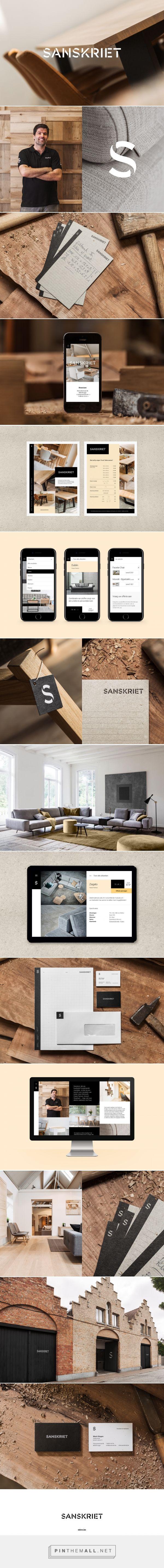 Sanskriet Quality Furniture Branding by Skinn Branding Agency | Fivestar Branding Agency – Design and Branding Agency & Curated Inspiration Gallery http://jrstudioweb.com/diseno-grafico/diseno-de-logotipos/