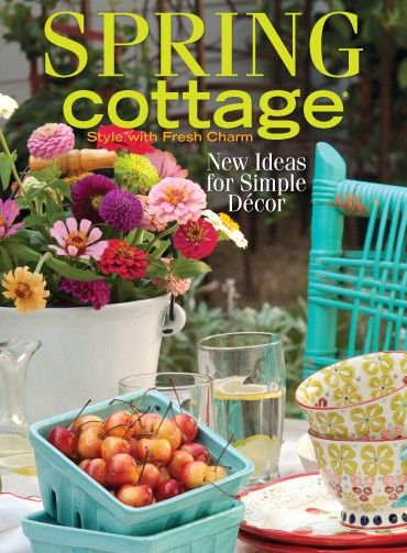 1000 images about the cottage journal covers on Spring cottage magazine