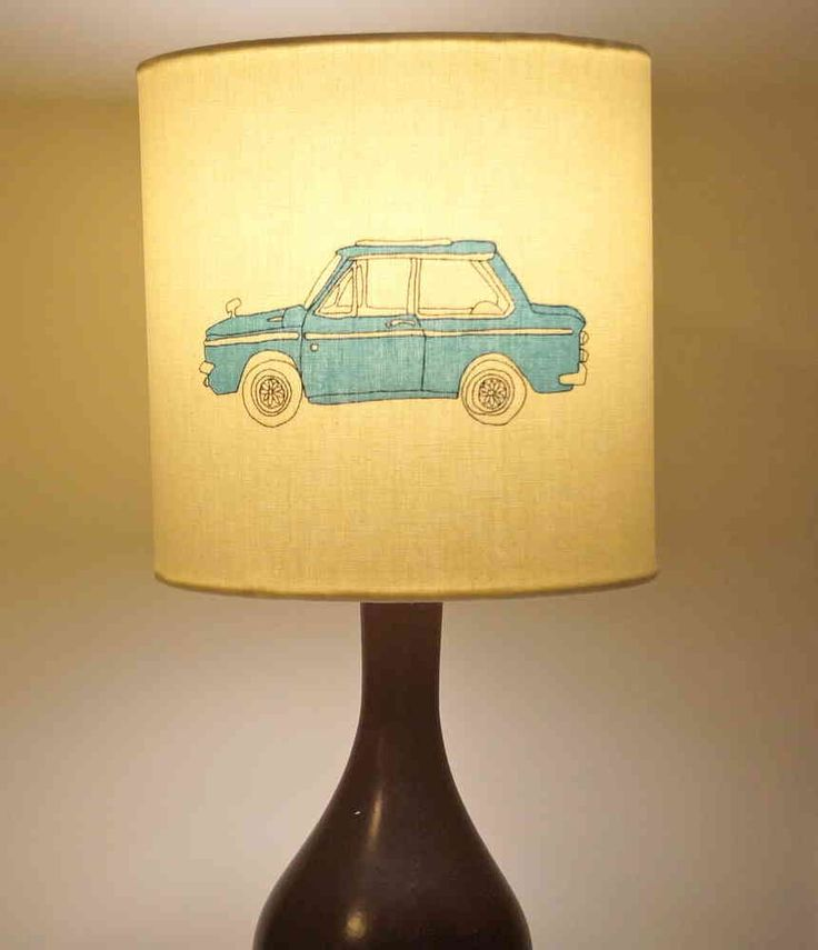 Harlequin Go Go Retro Drum Fabric Lampshade