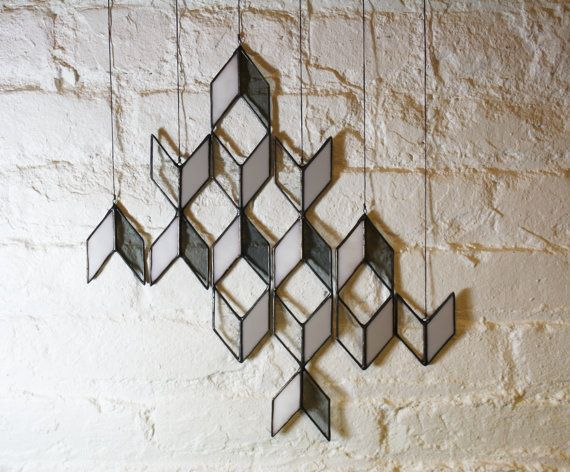 Stained Glass Elements Diamond Drops