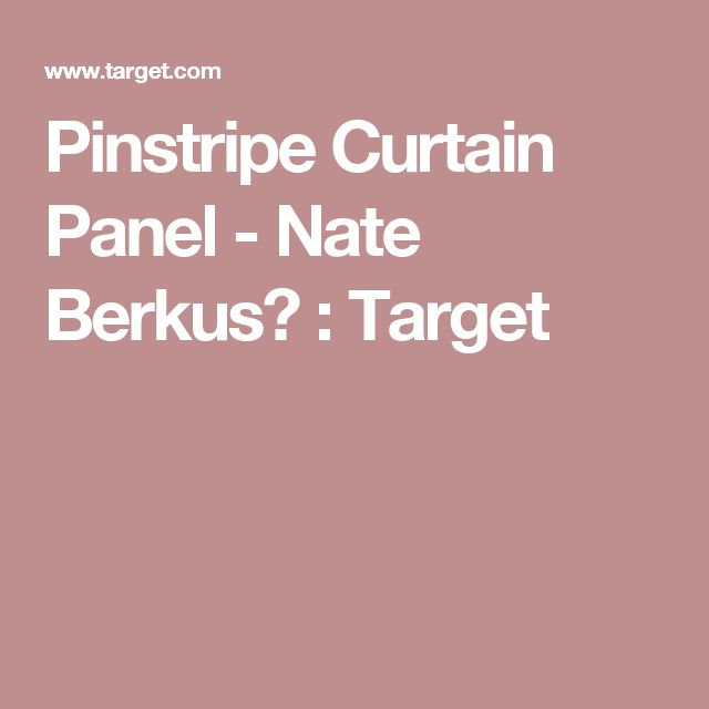 Curtains Ideas 36 inch curtains target : 17 Best ideas about Pinstripe Curtains on Pinterest | Drapery ...
