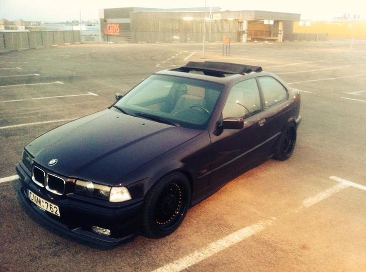 bmw 318 e36 california edition cinamon'as :)