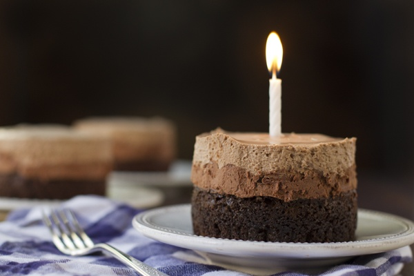 A little chocolate cake for my birthday