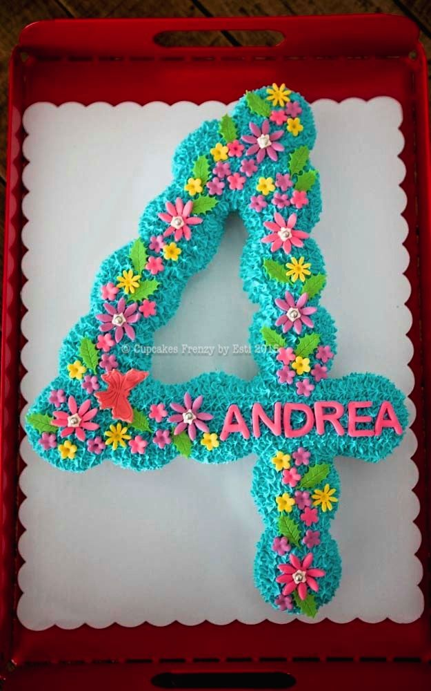 Happy 4th Birthday Andrea! May your day be full of lovely presents, laughters and happiness. <3