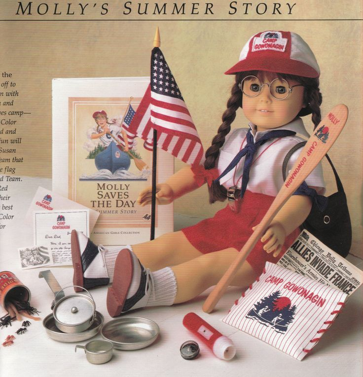 American Girl Molly - Summer