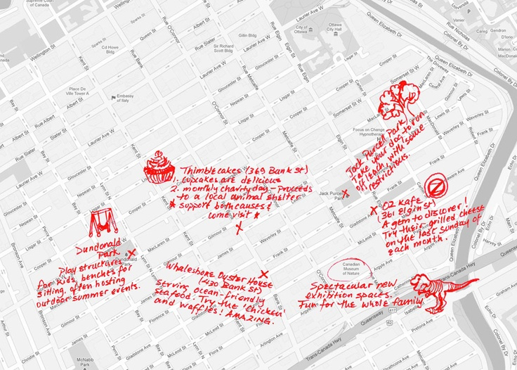 Fun things to do, see and eat in #Centretown #Ottawa. This neighbourhood has it all! Centretown map! Looking to buy a home in Centretown? Go to RoseAnneFreedman.com #ottawarealestate #remax