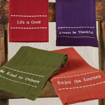 Every Hue For You Embroidered Towels $3.99 http://pamsmith.athome.com