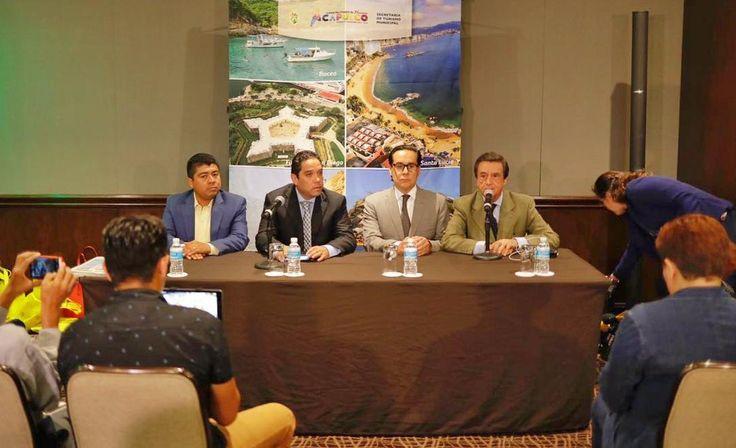 """] CD. MÉXICO * 20 de julio de 2017. Gobierno de Acapulco """"Todos los que vayan a disfrutar de Acapulco sepan que estamos preparados para que las vacaciones sean exitosas"""", dijo el presidente municipal, Evodio Velázquez, en conferencia de prensa realizada en la ciudad de México, donde afirmó que..."""