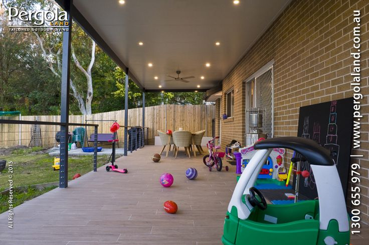 Family Patio Area. Keep the kids safe but outdoors with plenty of space to move around