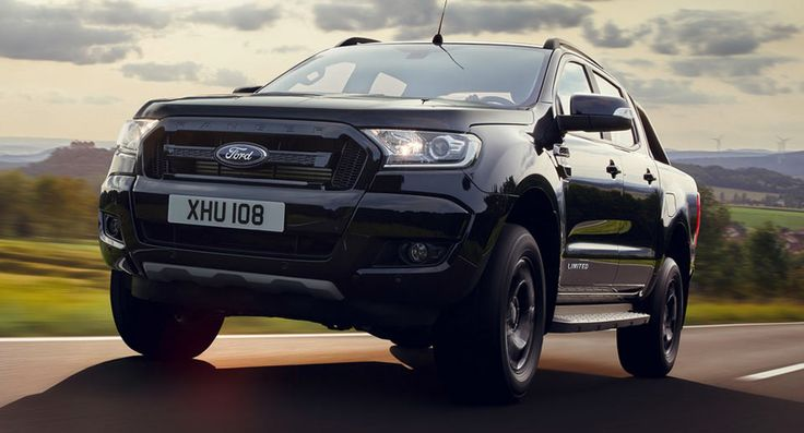 Ford Ranger To Show Darker Side At Frankfurt Show With New Black Edition