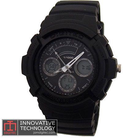 jam tangan digitec DG-2035T hitam