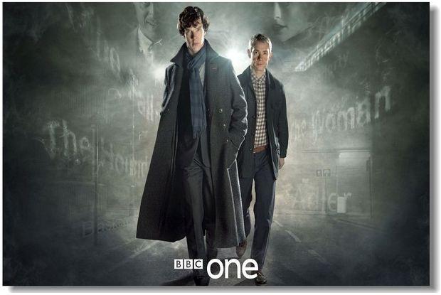 Купить шерлок холмс, sherlock - постер, плакат, афиша №12 по низкой цене