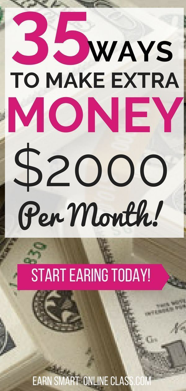 35 Best Ways to Make Extra Money Now | Money Matters | Make