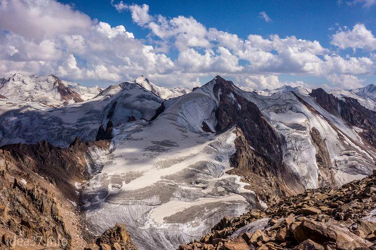 Ile-Alatau, Tyan-Shyan. Altittude - 4200 m