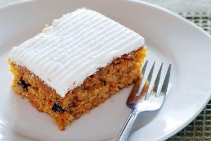 carrot pumpkin bars w/ cream cheese topping - 133 calories a bar!