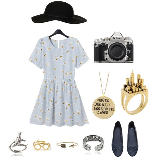 penny porter from girl online by k-daisy on Polyvore featuring Retrò, H&M, Artelier by Cristina Ramella, Alisa Michelle, Tressa, Journee Collection, Zad, Topshop, Nikon and women's clothing