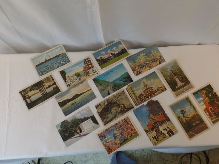 Antique Post Cards Lot of 15 International and Domestic