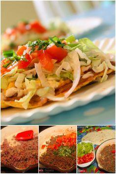 Comida mexicana, você gosta? Aqui, preciso pedir desculpas aos mexicanos, na verdade essa é uma variação do Taco, mas fica uma delicia e é bem prático e rápido de fazer. Eu uso as tortilhas semi …
