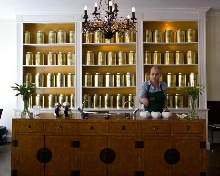 Classic five o'clock tea @ Perch's Tearoom