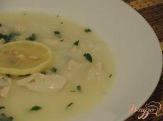 Суп Авголемоно - пошаговый рецепт с фото