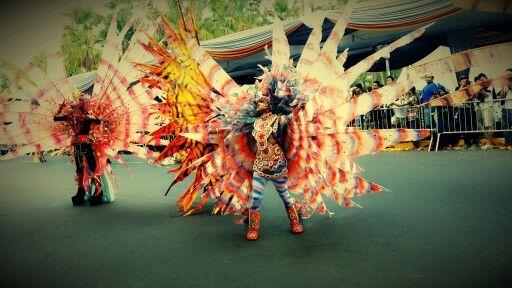 Jember Fashion Carnival 2015...lion fish costume.