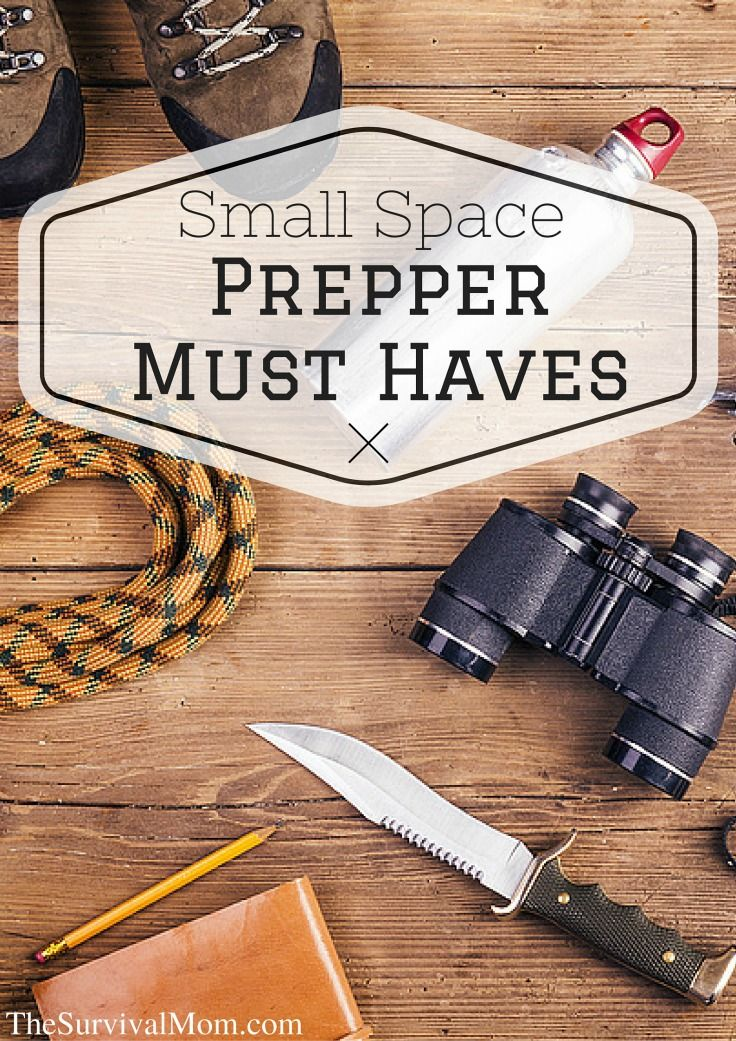 61 best preparedness images on pinterest bushcraft homestead small space prepper must haves survival mom fandeluxe Gallery