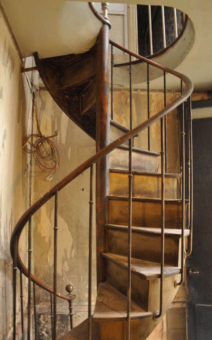 Antique Spiral Staircase 19th Century