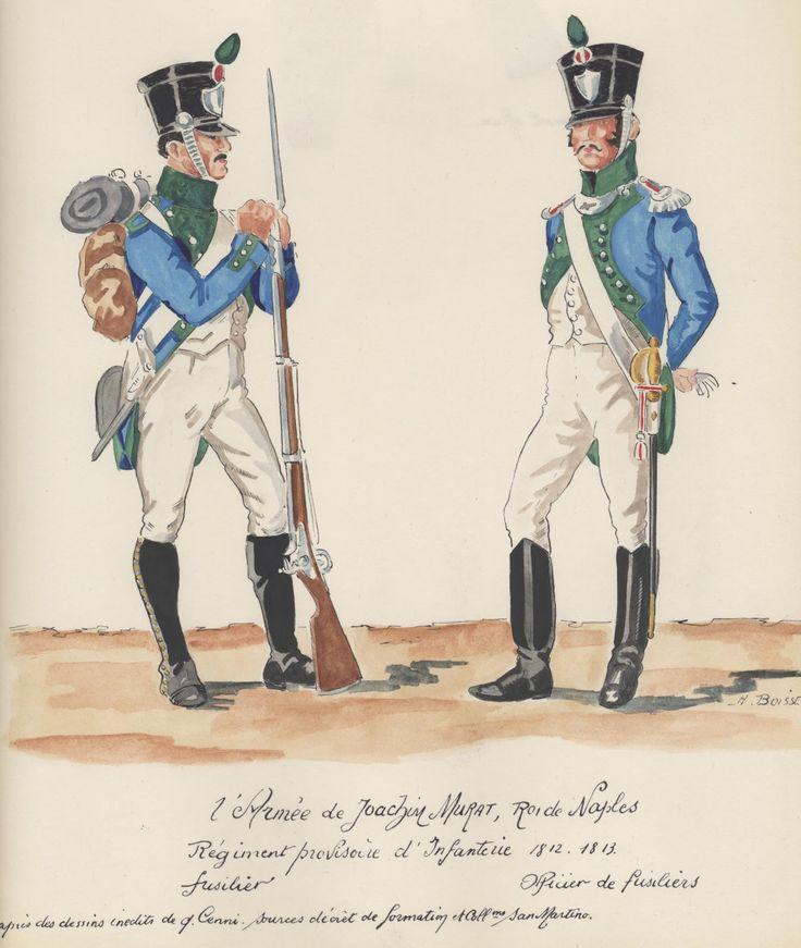 L'Armée Napolitaine 165952f5b570ba41e4bca9eb302c3335--napoleonic-wars-napoli