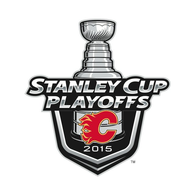 Calgary Flames - 2015 Stanley Cup Playoffs logo