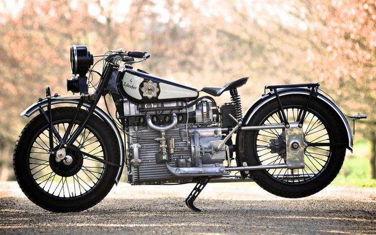 1928 Windhoff Four - Rare Vintage Motorcycle