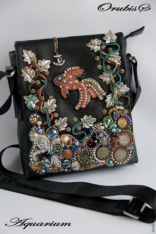 Женские сумки ручной работы. Aquarium. Handmade.