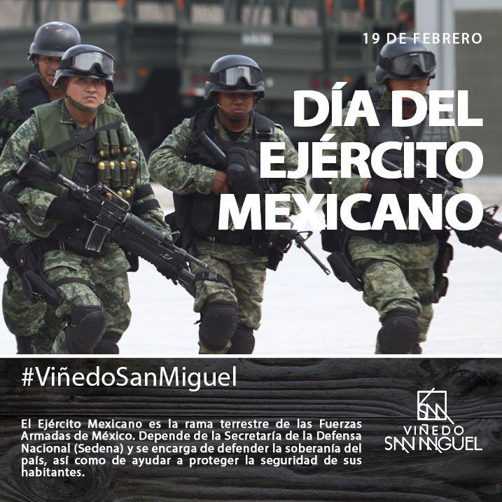 El Ejército Mexicano es la rama terrestre de las Fuerzas Armadas de México, depende de la Secretaría de la Defensa Nacional (Sedena) y se encarga de defender la soberanía del país, así como de ayudar a proteger la seguridad de sus habitantes.