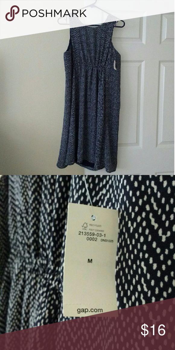 Gap maternity dress Blue and white maternity dress Gap Dresses Maxi