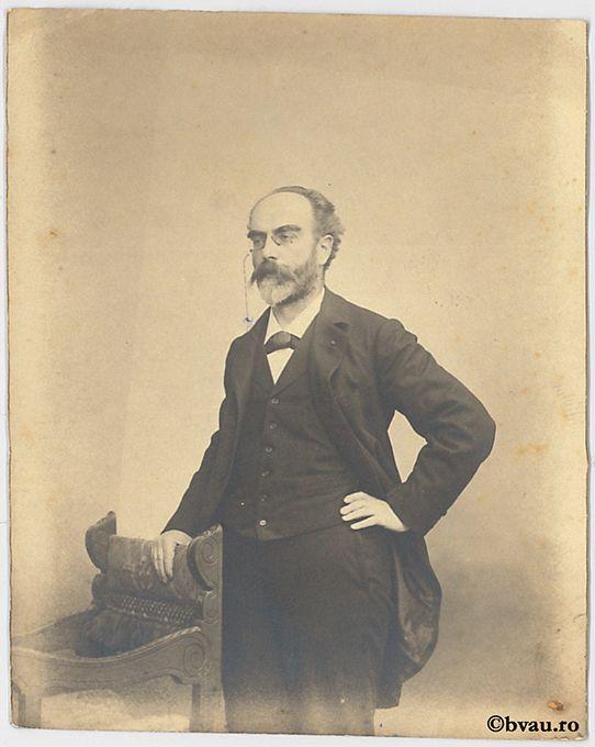 """G. Lippman, Paris. Imagine din colecțiile Bibliotecii """"V.A. Urechia"""" Galați."""
